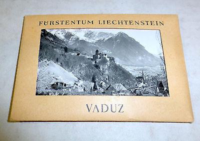 Furstentum Liechtenstein, Vaduz, 10 souvenir photos, ca. 1920