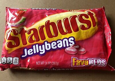 Starburst Fav Reds Jellybeans 14 Oz