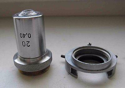 Lomo Achromat Objective Lens 20x 040 Polar Microscope Zeiss