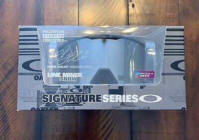 NEW Oakley Lineminer Harlaut Signature Series Prizm Black Snow Goggle (Oakley Signature Goggles)