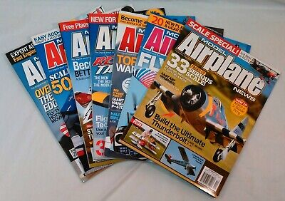 Model Airplane News Magazine Back Issues - Model Airplane News Magazine