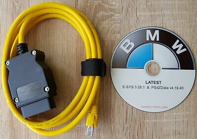 BMW ENET Diagnostic  Coding Cable Tool ALL BMW F Series  Airbag Fault Reset