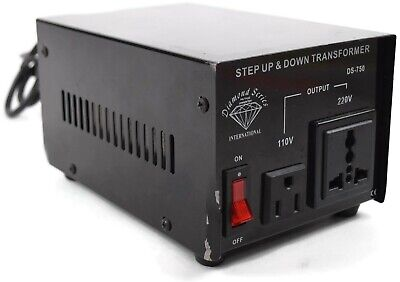 Diamond Series 110-220v Step Up And Down Voltage Transformer Ds -750