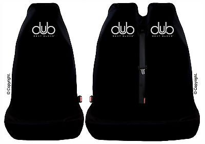 GENUINE DUB SEAT GLOVE Seat Covers fit Volkswagen T5 Front Single & Twin Seats