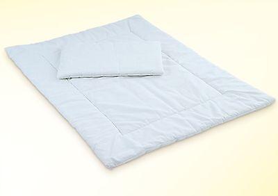 Kinder Baby Bettdecke und Kissen für Kinderbett 70x140 und 60x120 cm