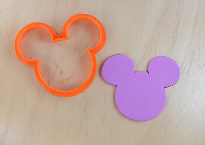Disney Mickey Mouse Cookie Cutter - 3d printed plastic](Mickey Mouse Cookie)