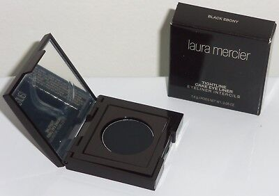 Laura Mercier Tightline Cake Eye Liner - BLACK EBONY -0.05ozFullSz/BRAND NEW - Laura Mercier Eyeliner Black Ebony