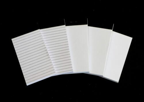 """5 Pcs. - 32304 Note Pad Refill Solid and Lined - Montblanc Mozart Series 2""""x 4 """""""