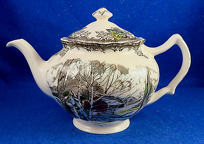 """Johnson Brothers: """"Friendly Village"""" Teapot Made in England"""