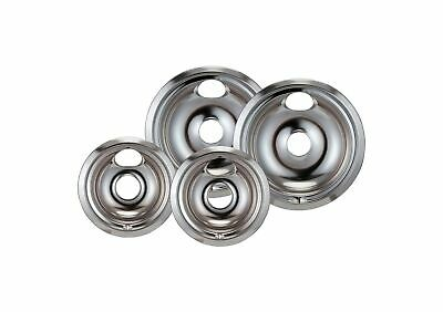 Ge Chrome Bowls - Stanco 4 Pack GE/Hotpoint Electric Range Chrome Reflector Bowls With Locking