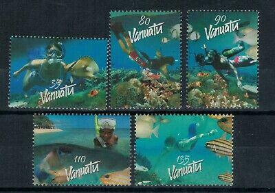 Vanuatu Scott 828 - 832 in MNH Condition