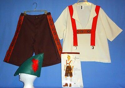Lederhosen Costume-Mens XL;German;Bavarian;Oktoberfest;Alpine;Leg Avenue-4 - Men's Alpine Kostüm