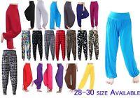 Women Ladies Trousers Ali Baba Long Pans Baggy Hareem Leggings Plus Size 8-30 - unbranded - ebay.co.uk