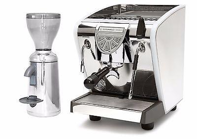 Nuova Simonelli Musica Lux Espresso Coffee Machine Grinta Grinder 110v Silver