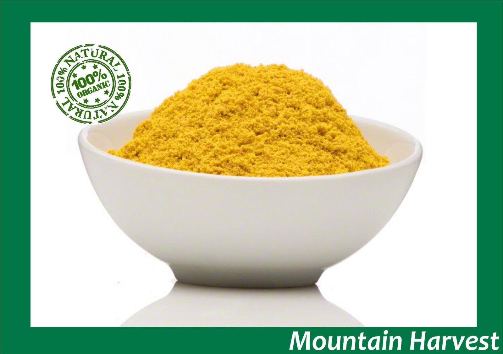 100% PURE ORGANIC BEE POLLEN POWDER 1 2 4 6 8 12 OZ   FRESH &  GLUTEN FREE