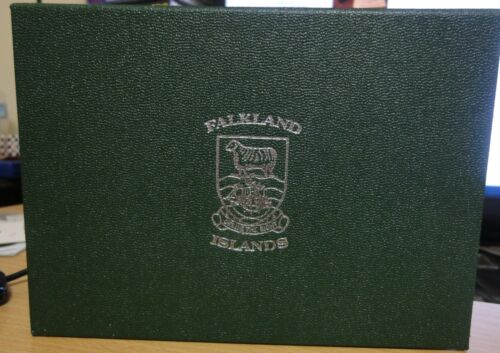 Falkland Islands  Pristine1987 Proof Coin Collection set Royal Mint~ with COA