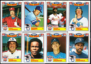 1984 TOPPS COMMEMORATIVE