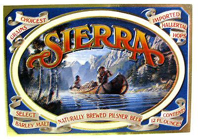 SIERRA - NATURALLY BREWED PILSNER BEER 12oz