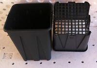 Vasi Plastica Quadrati Cm 13 - 13x13x18 - Costolatura F. Rete Vivaio 10pz -  - ebay.it