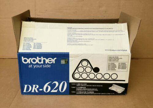 New 1 Genuine BROTHER DR-620 Black Drum Cartridge Unit OEM - Open Box