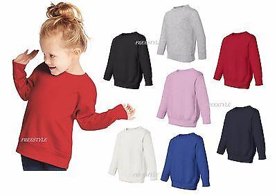 Rabbit Skins -3317 Toddler Fleece Sweatshirt Boys Girls Unisex Sweatshirts -
