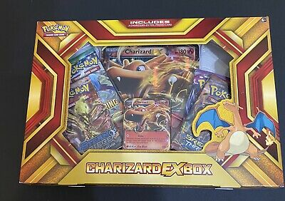 Charizard EX Box Trading Cards 2016 Fire Blast Limited Edition Factory Sealed NW