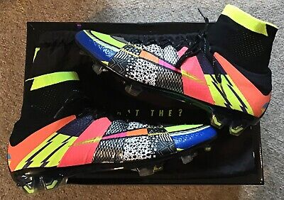 "NIKE ""WHAT THE MERCURIAL"" SUPERFLY SE FG FOOTBALL BOOTS UK 7"