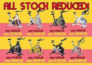 BRAND NEW SPIN EXERCISE BIKE CLEARANCE SALE ON SPINNING BIKES Wangara Wanneroo Area Preview