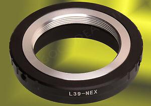 Leica-M39-L39-LTM-mount-lens-to-Sony-E-mount-NEX-adapter-A7-A7R-A6000-NEX-7-6-5T