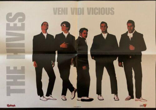 HIVES VENI VIDI VICIOUS OG PROMO POSTER EX COND NEVER HUNG 13X19 PUNK GARAGE