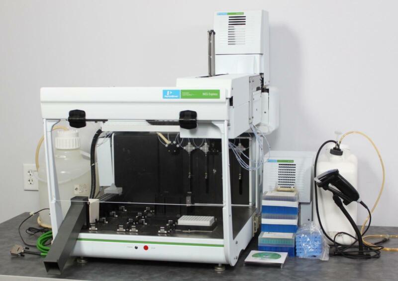 Perkin Elmer JANUS NGS Express AJS4NGS/D Automated Liquid Handler