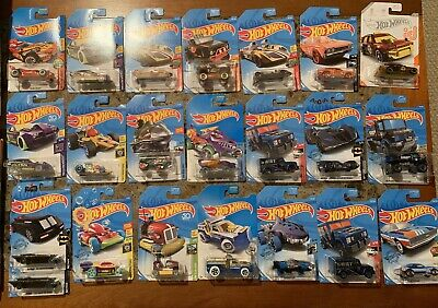 Hot Wheels Treasure Hunt Lot W/3 Super Treasure Hunts BONUS !