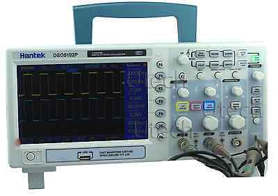 Hantek Dso5102p Digital Oscilloscope 100mhz 1gs 2ch 7 Tft Record Length Up 40k
