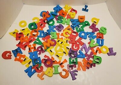 Letters and Numbers Magnets ABC Alphabet Math Fridge Colorful Toys
