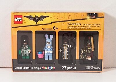 LEGO Batman Movie MINIFIGURE COLLECTION 5004939 Bricktober TOYS R US SEALED New