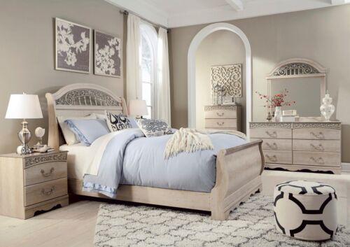 Ashley Furniture Catalina Queen 6 Piece Sleigh Bedroom Set