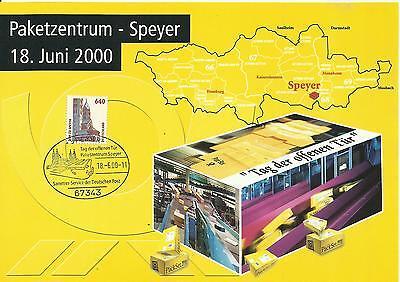 Kontaktgabe/Sonderblatt  Deutsche Post AG -Tag der offenen Tür PZ