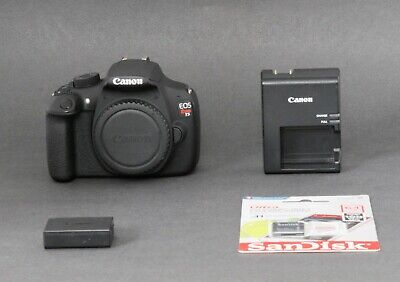 Canon EOS Rebel T5 18.0MP DSLR Camera, Black (Body Only) Low Shutter, Free Ship