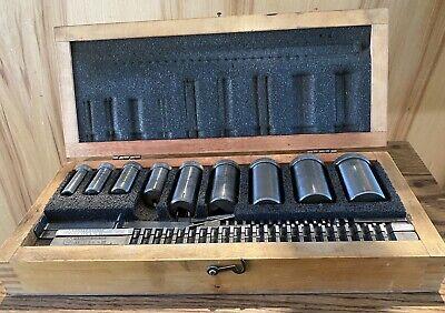 Hassay-savage Key Way Broach Setwith Hardwood Case 18-14-38