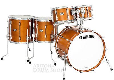 "Yamaha RECORDING CUSTOM 5pc Drum Set Shell Pack w/20"" Bass, Real Wood Finish NEW"