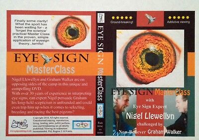 RACING PIGEON DVD - Eyesign MasterClass with Nigel Llewellyn