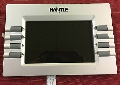 Hantle Tranax Color Lcd Bezel Assembly 7 Wide 1700w G1900 Atm