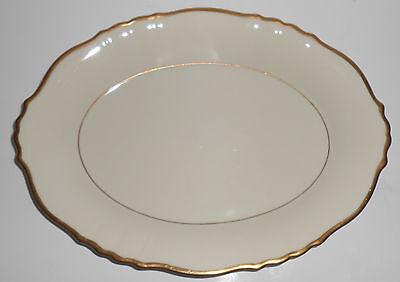 Syracuse China Old Ivory Gold Fluted Platter China Fluted Platter
