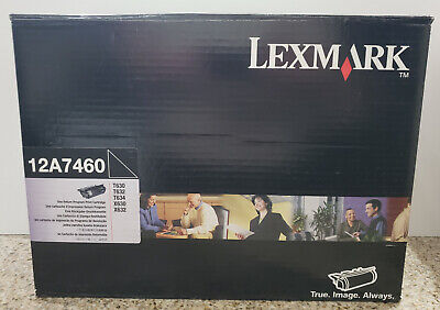 Genuine Lexmark 12A7460 High Yield Black Toner T630 T632 T634 X630 12A7360 New