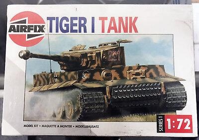 Airfix 1:72 Scale German Panzer Kampfwagen VI Tiger I Tank Model Kit 01308