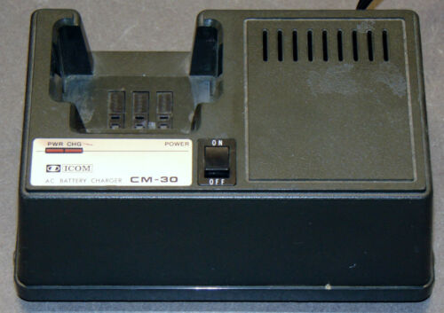 Icom CM-30 Battery Charger