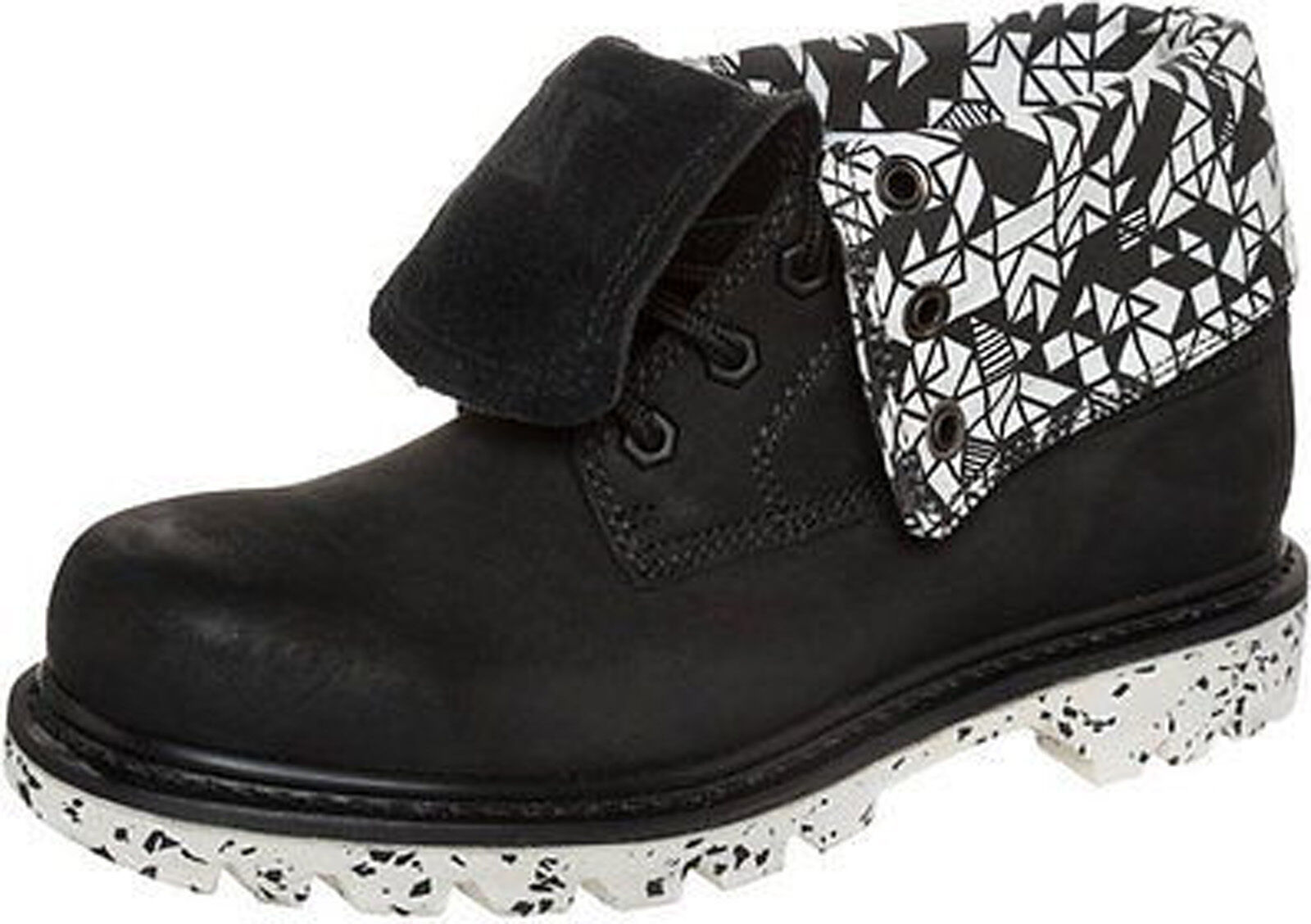CAT Caterpillar Colorado Black Walala RD Roll Down Womens Ankle Boots Size  3-8 2af560d0ae