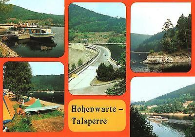 Hohenwartetalsperre  -  Fahrgastschiff - Sperrmauer - Campingplatz  -  1985 gebraucht kaufen  Berlin