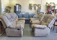 DELIVERY TODAY COMFORTABLE 3X ALL RECLINERS sofas set lounge Belmont Belmont Area Preview