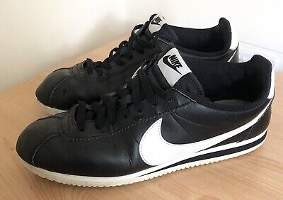 Nike Cortez Leather Trainers UK 9 Good Condition